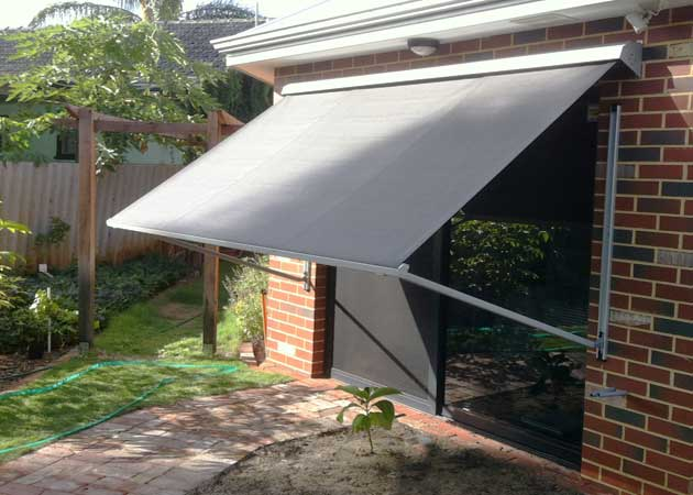 Contemporary Window Awning - Perth | Awning Republic Perth