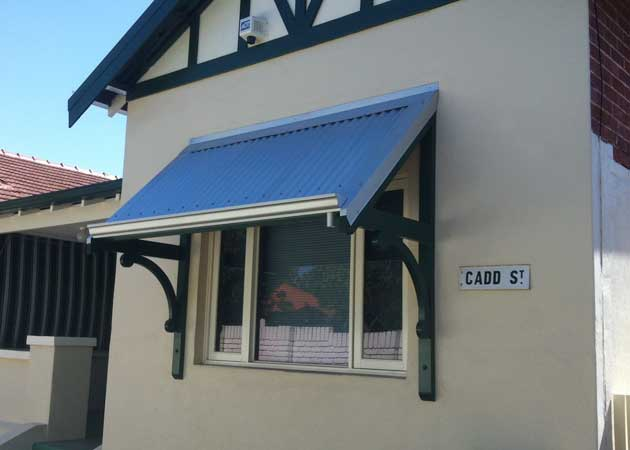 Traditional Timber Awning Mount Hawthorn Perth