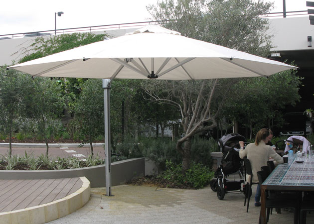 Cantilevered Umbrella Perth Awnings Perth Commercial