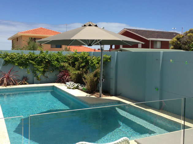 Cantilevered Umbrella For Pool Awnings Perth Commercial