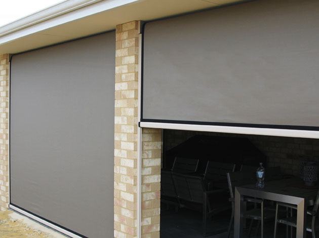 Ziptrak Blinds South Perth Wa Awnings Perth Commercial