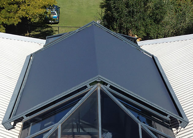 Retractable Skylight Awning Peppermint Grove Awnings