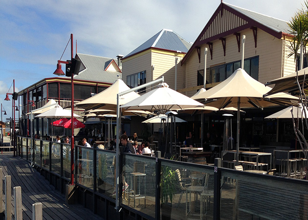 Commercial Umbrellas The Lucky Shag Awnings Perth