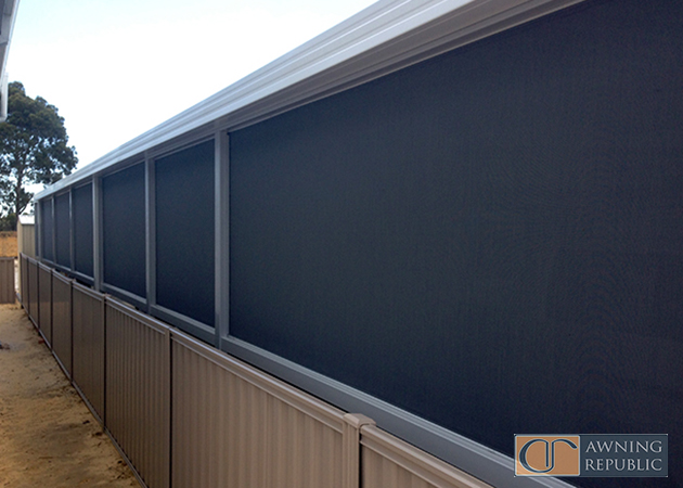 Ziptrak Blinds Serpentine Awnings Perth Commercial