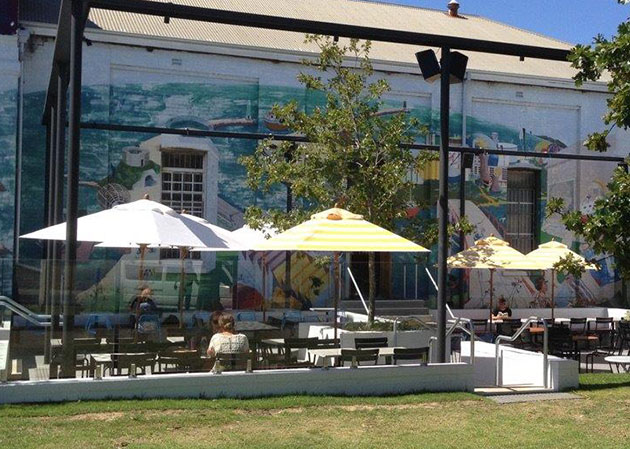 Cafe Umbrellas Fremantle Awnings Perth Commercial