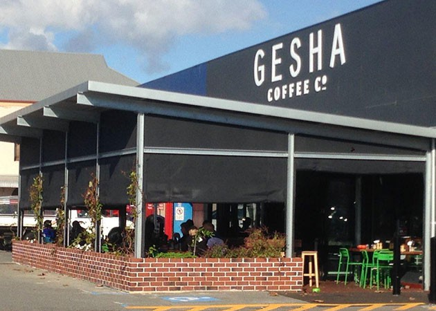 Gesha Coffee Awnings Fremantle Awnings Perth
