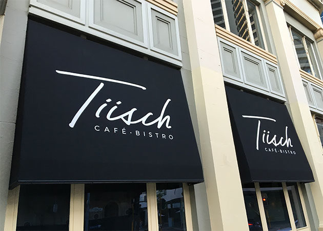 Tiish Cafe Fixed Awnings Awnings Perth Commercial