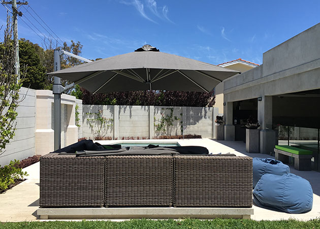 Cantilever Umbrella Floreat Awnings Perth Commercial