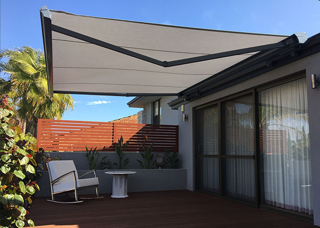 Folding Arm Awning Carine Awnings Perth Commercial