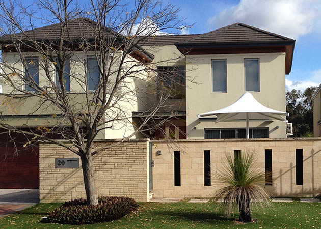 Architectural Umbrella Ascot Awnings Perth Commercial