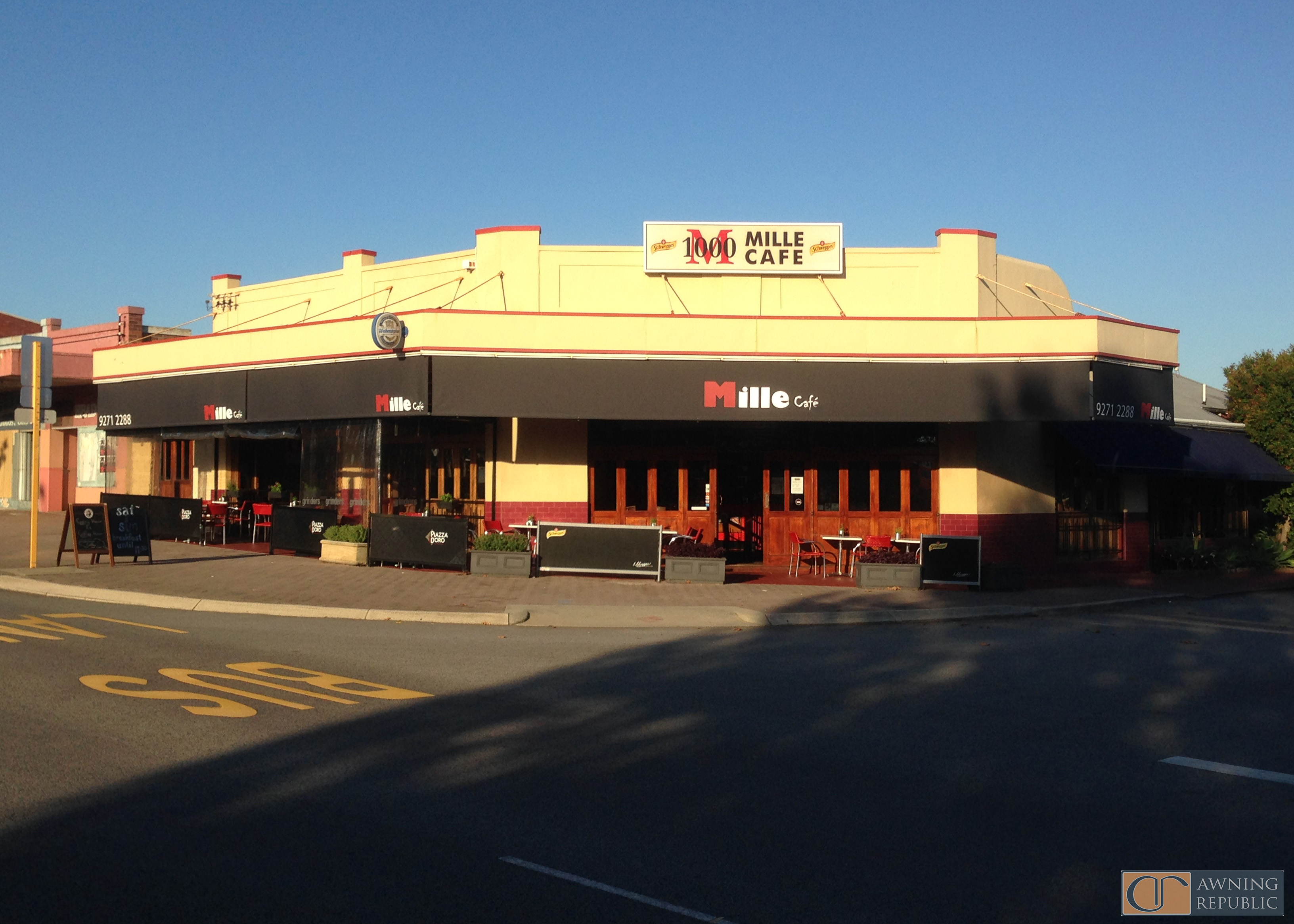 Shop Sign Awnings Perth | Awnings Perth, Commercial ...