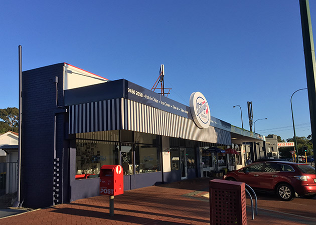 Shop Front Awning Como Awnings Perth Commercial