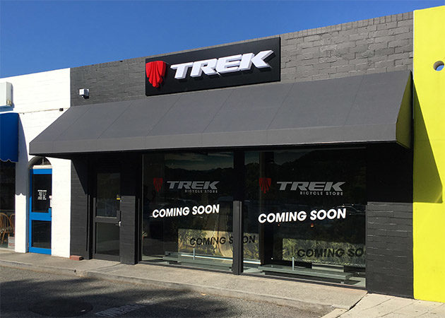 Dovetail Awning Trek Bicycle Awnings Perth Commercial