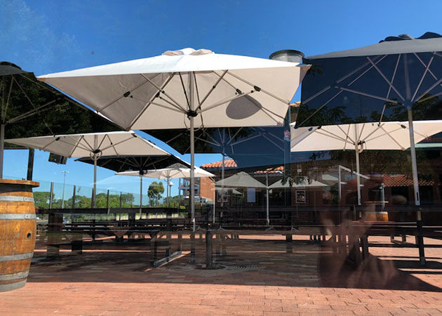 Curtin University Guild Bentley Awnings Perth