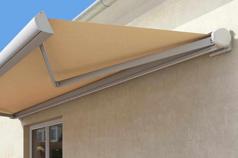 Cocoon Folding Arm Awning Perth