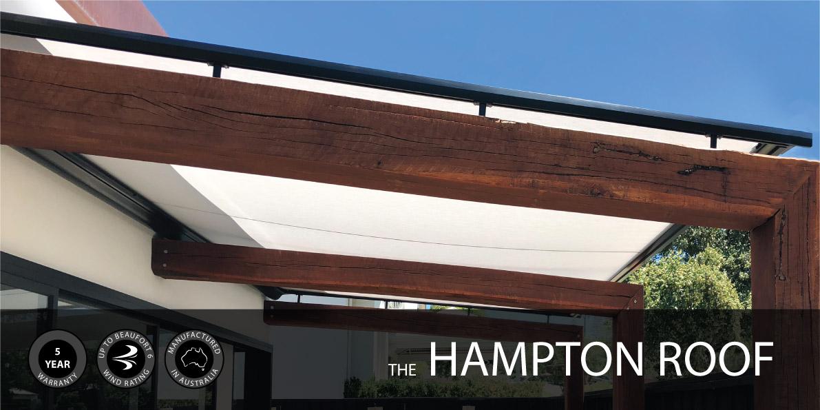 Hampton Retractable Roof Perth Awning Republic