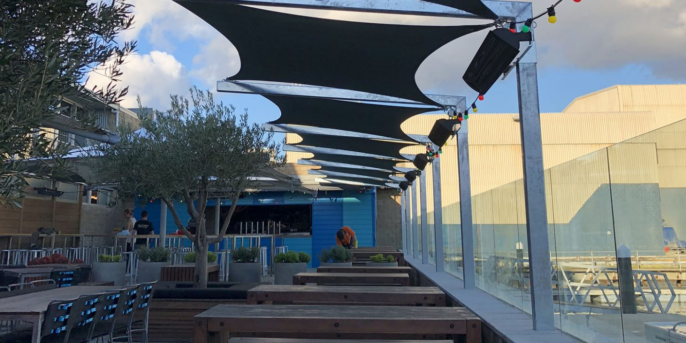Commercial Shade Sails WA
