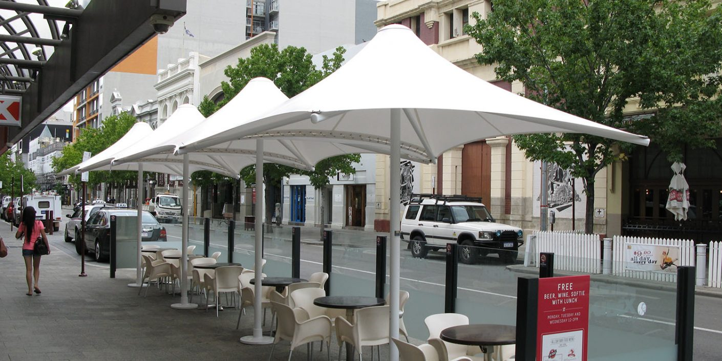 Commercial Architectural Umbrellas Perth WA