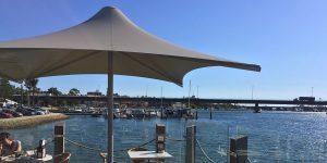 Architectural Cafe Umbrellas WA