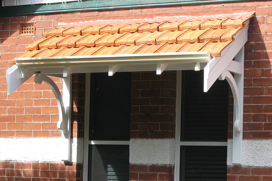Tiled Federation Awnings Perth
