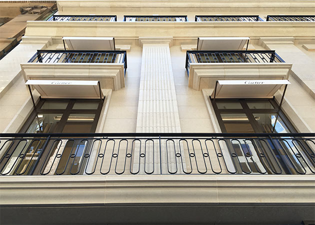 Cartier Flagship Store Sydney Awning Republic