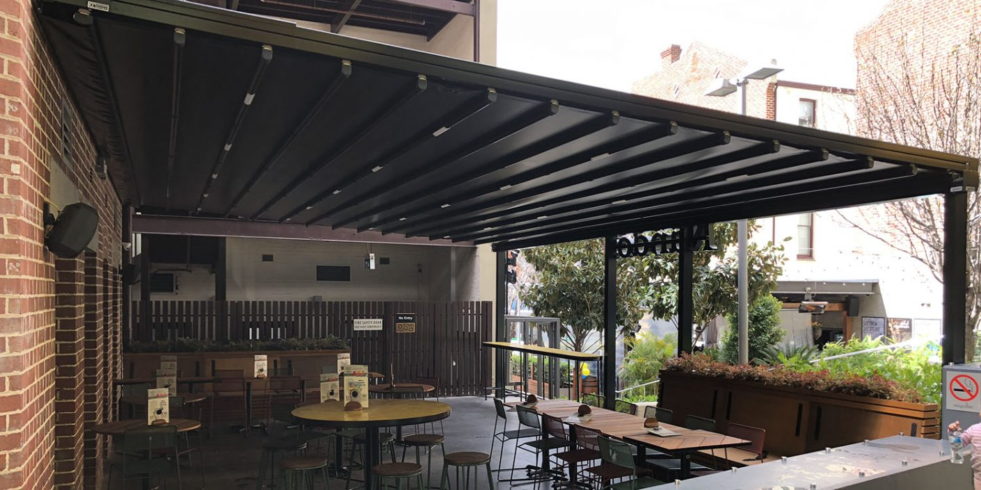 Waterproof Retractable Roof WA