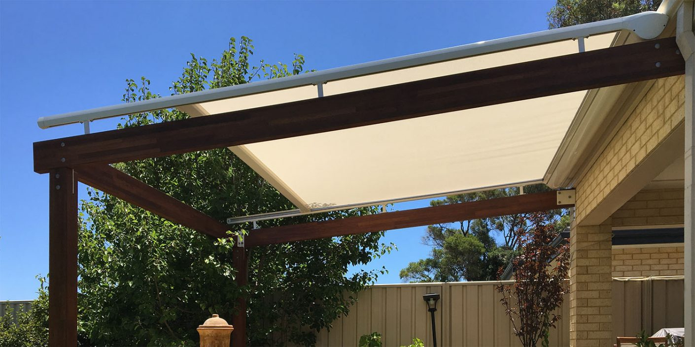 Retractable roof Awning Perth